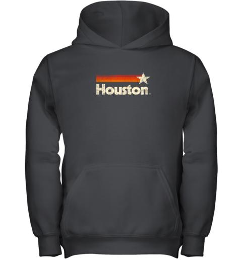 Houston Texas Shirt Houston Strong Shirt Vintage Stripes Youth Hoodie