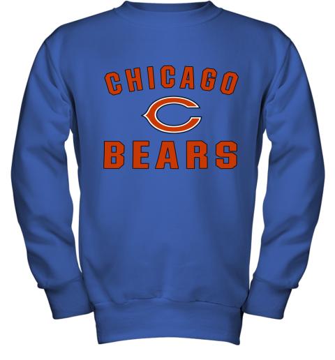 Chicago Bears NFL Line Gray Victory Youth Sweatshirt