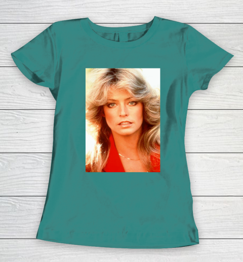 Orlando Brown Farrah Fawcett Women's T-Shirt 10