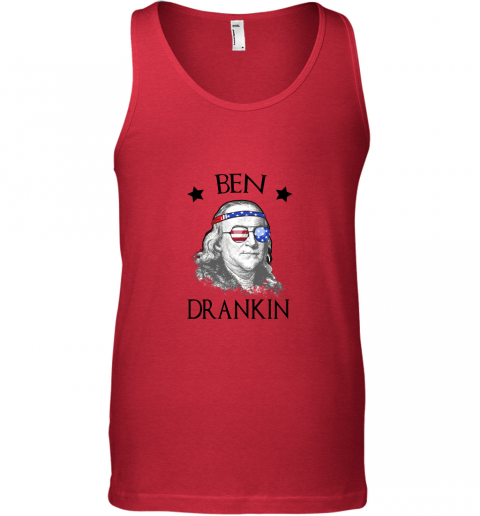 Day 4th Of July Ben Drankin Benjamin Franklin Tank Top