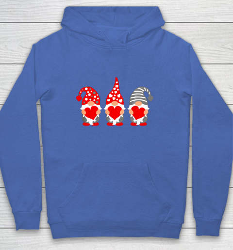 Gnomes Hearts Valentine Day Shirts For Couple Hoodie 6