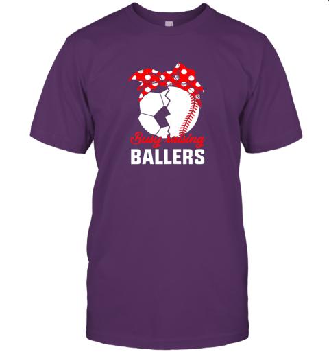 pp75 busy raising a ballerfunny baseball soccer mom jersey t shirt 60 front team purple