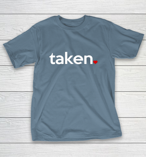 Taken Sorry I m Taken Gift for Valentine 2021 Couples T-Shirt 6