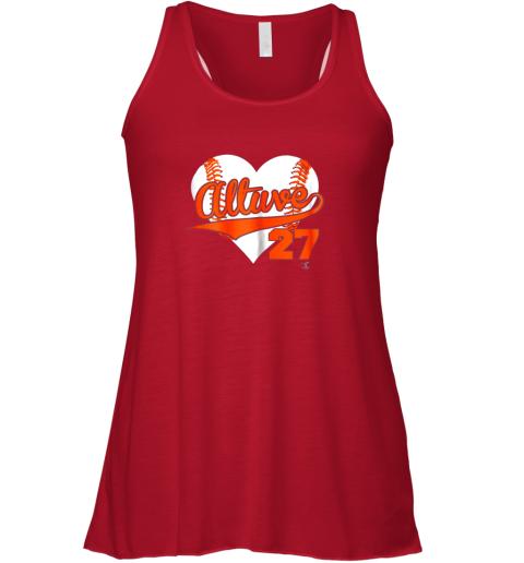 nqat jose altuve baseball heart shirtapparel flowy tank 32 front red