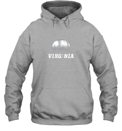 xp06 virginia baseball state pride team sport hoodie 23 front sport grey