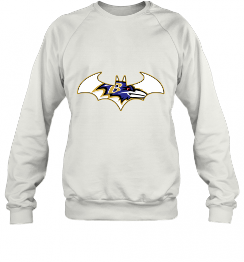 We Are The Baltimore Ravens Batman NFL Mashup Sweatshirt
