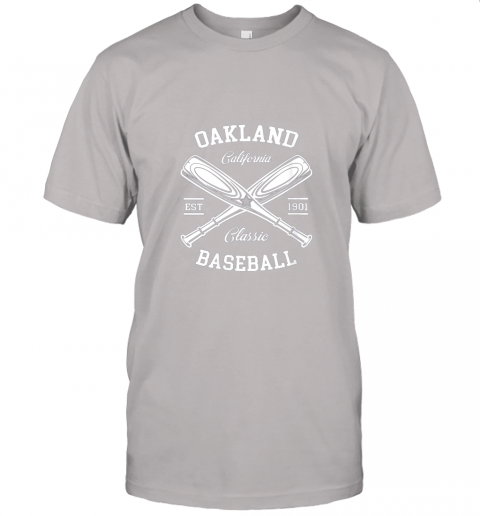 9pqv oakland baseball classic vintage california retro fans gift jersey t shirt 60 front ash