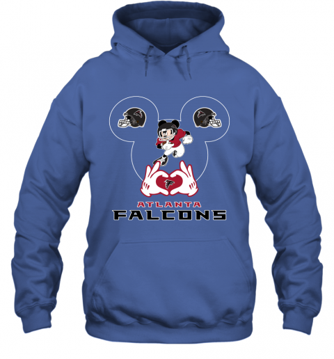 zzcq i love the falcons mickey mouse atlanta falcons hoodie 23 front royal