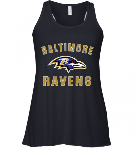 u0vf mens baltimore ravens nfl pro line by fanatics branded gray victory arch t shirt flowy tank 32 front midnight