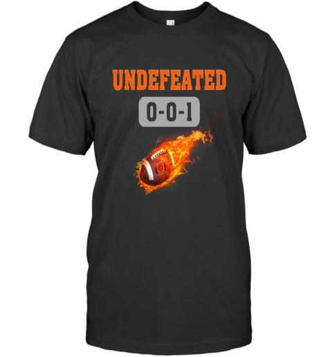 NFL CINCINNATI BENGALS LOGO Undefeated T-Shirt