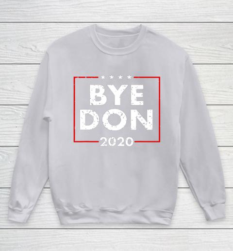 ByeDon 2020 Joe Biden 2020 American Election Youth Sweatshirt 3