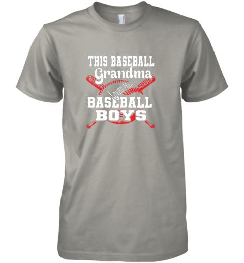 2x5w this baseball grandma loves her baseball boys premium guys tee 5 front light grey