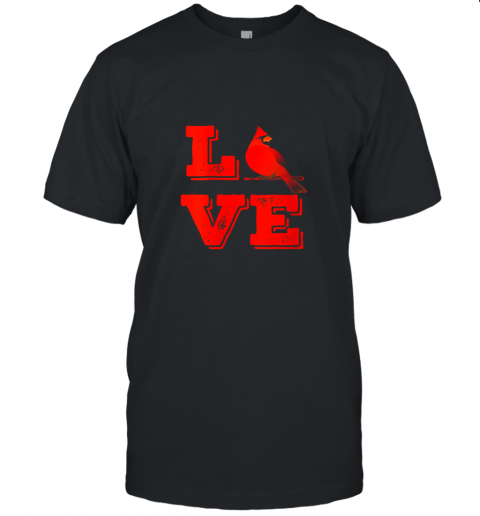 Classic Love St. Louis Missouri Baseball Fan Retro Unisex Jersey Tee