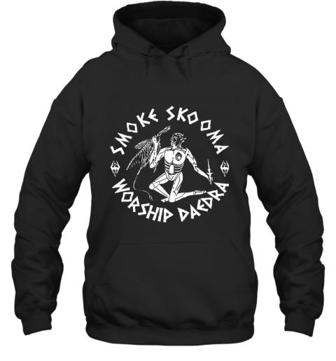 Smoke Skooma Worship Daedra Elder Scrolls Hoodie