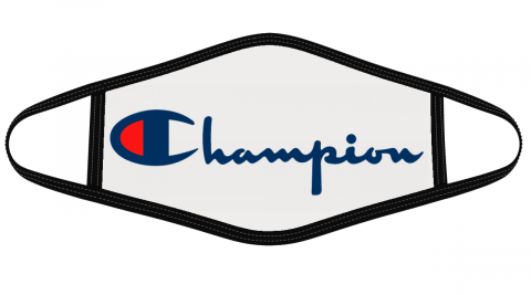 Champion Logo Mask Cloth Face Cover