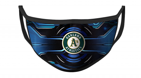 MLB Oakland Athletics Baseball For Fans Cool Face Masks Face Cover