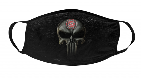NHL Carolina Hurricanes Hockey The Punisher Face Mask Face Cover