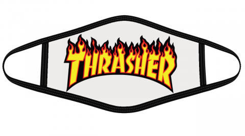 Thrasher Logo Face Cover