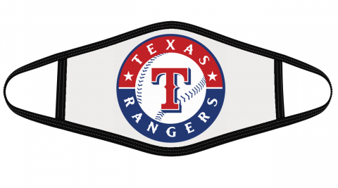 Texas Rangers Mask Cloth Face Cover