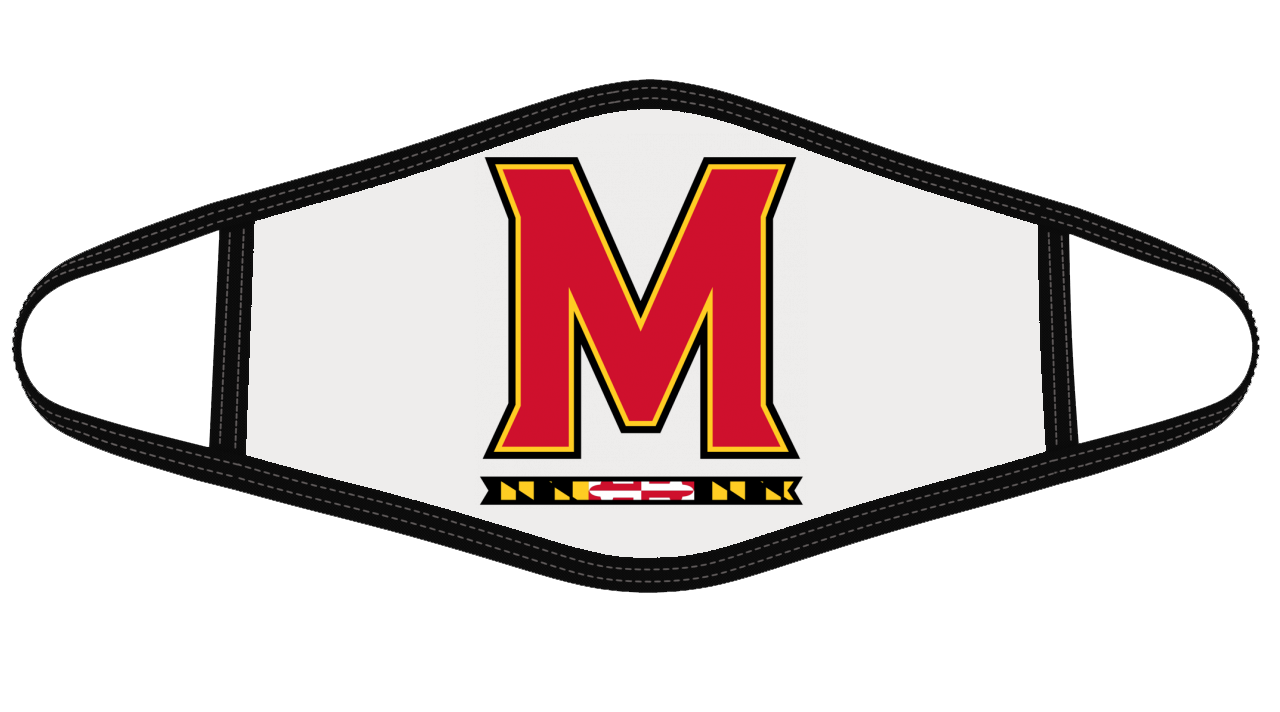 Maryland Terps Mask Cloth Face Cover