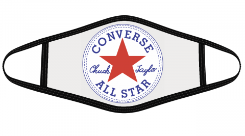 Converse Logo Mask Cloth Face Cover
