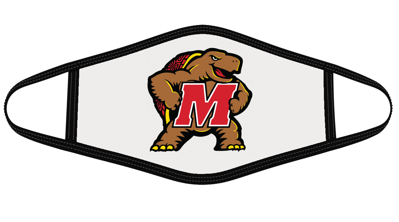 University of Maryland Terrapins Mask Cloth Face Cover