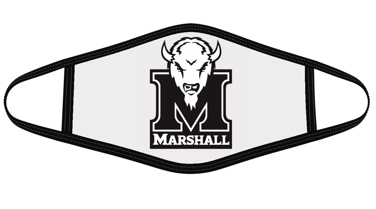 Marshall Thundering Herd Mask Cloth Face Cover
