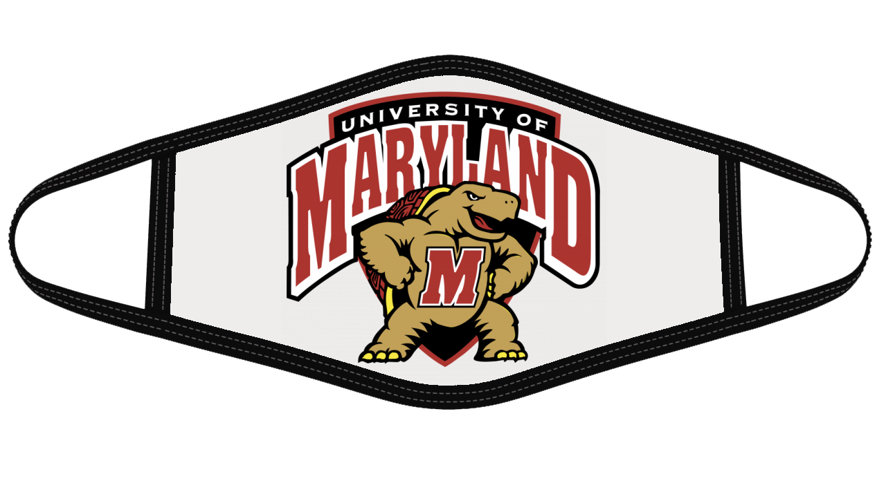 Maryland Terrapins Face Cover