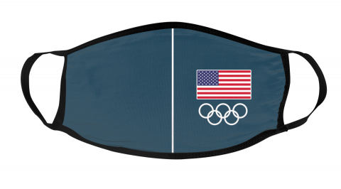 USA Olympic face mask Face Cover