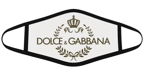 Dolce _ Gabbana Logo Face Cover
