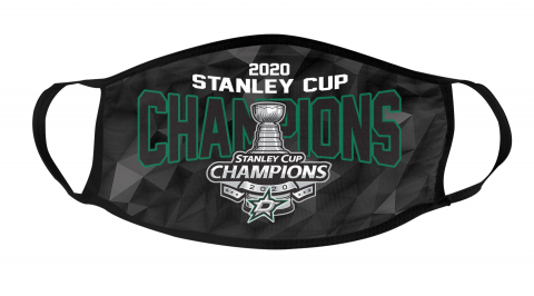 2020 Stanley Cup Champions NHL Dallas Stars Mask Face Cover