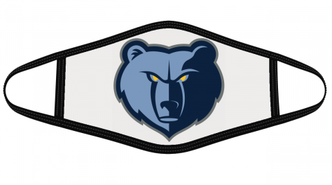 Memphis Grizzlies Face Cover