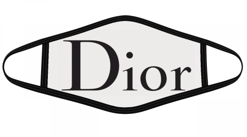 Dior Logo Face Cover