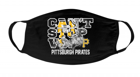 MLB Pittsburgh Pirates Baseball Can't Stop Vs Face Masks Face Cover