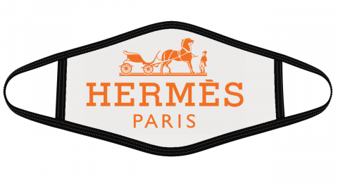 Hermes Logo Mask Cloth Face Cover