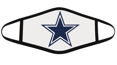 Dallas Cowboys Mask Cloth Face Cover