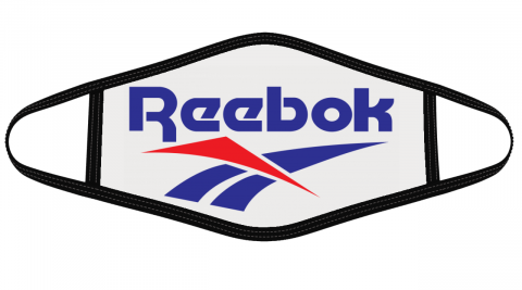 Reebok Logo Mask Cloth Face Cover