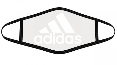 Adidas Logo Mask Cloth Face Cover