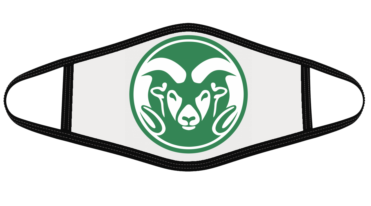 Colorado State Rams Mask Cloth Face Cover