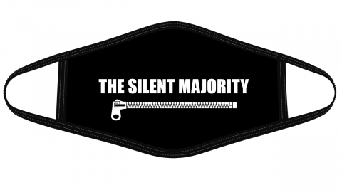 The Silent Majority cloth face mask Face Cover