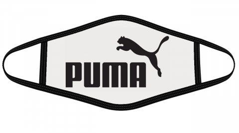 Puma Logo Mask Cloth Face Cover