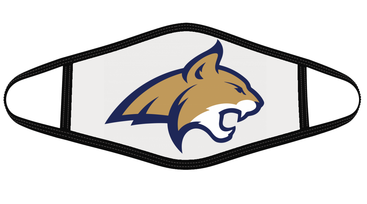 Montana State Bobcats Mask Cloth Face Cover
