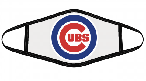 Chicago Cubs Mask Cloth Face Cover