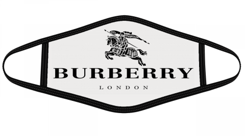 Burberry London Logo Mask Cloth Face Cover