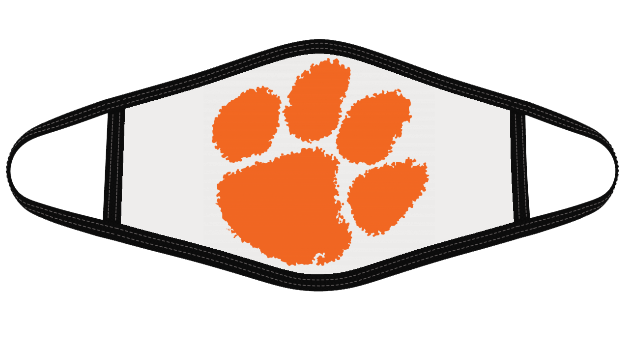 Clemson tigers Mask Cloth Face Cover