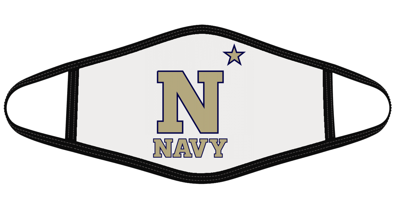 NAVY Mask Cloth Face Cover