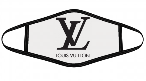 Louis Vuitton Logo Mask Cloth Face Cover