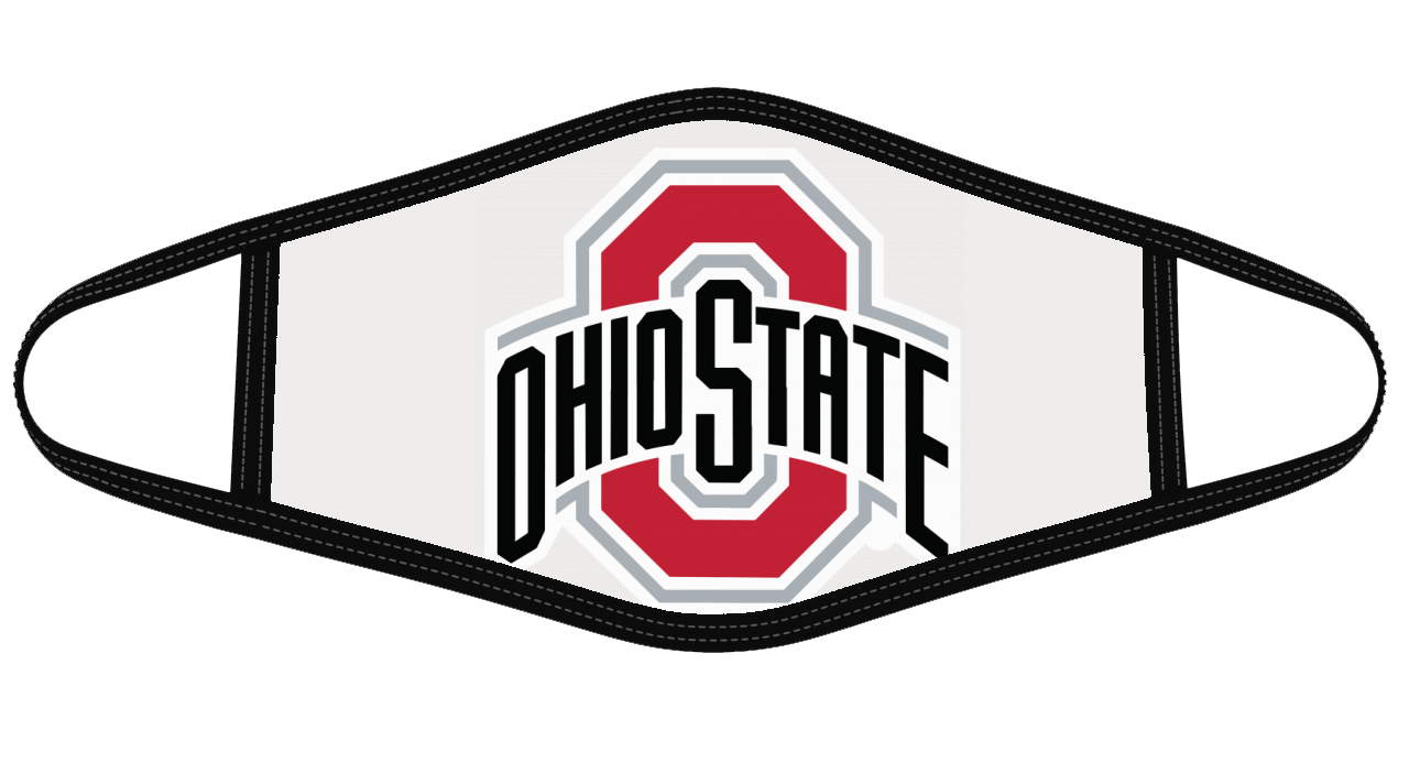 Ohio State Buckeyes Mask Cloth Face Cover