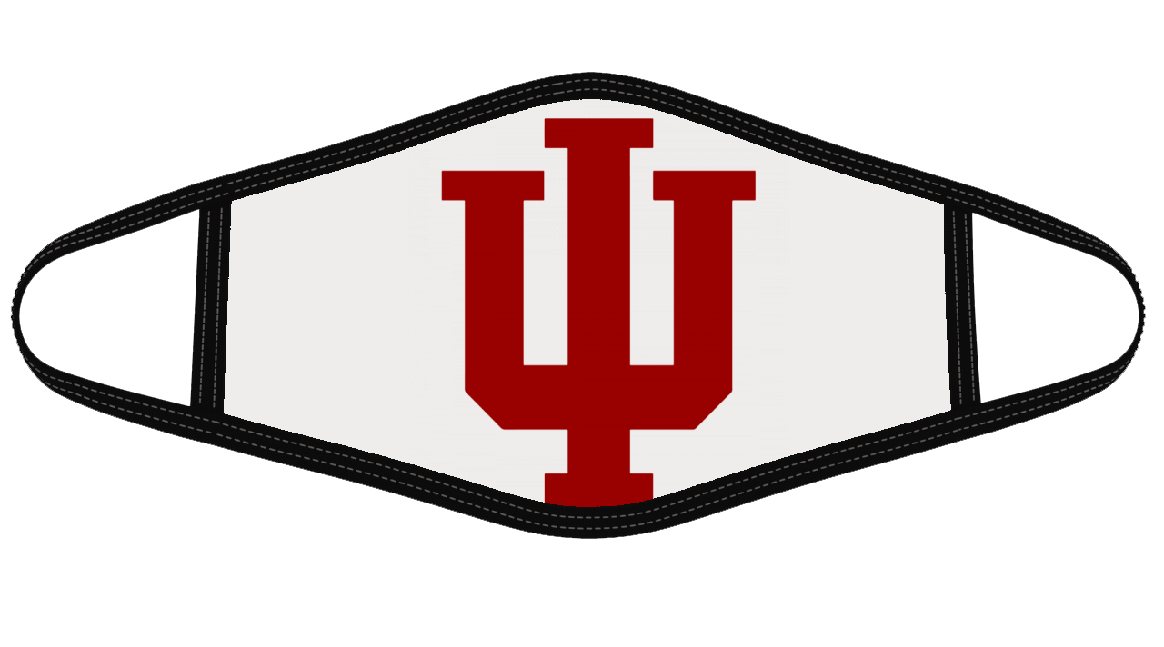 Indiana hoosiers Mask Cloth Face Cover