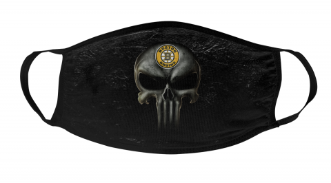 NHL Boston Bruins Hockey The Punisher Face Mask Face Cover
